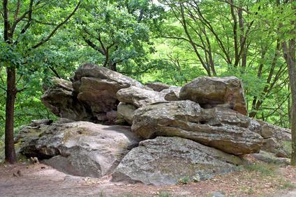 Sea of stones, Kali Basin, Hungary